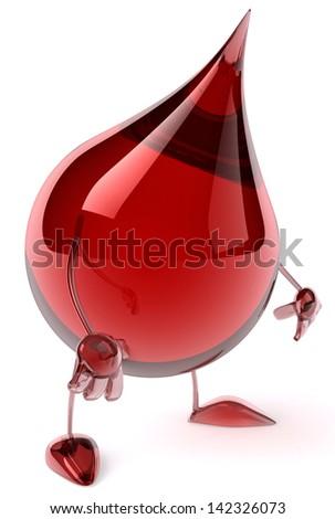 Blood - stock photo