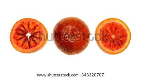 Blood Orange - stock photo
