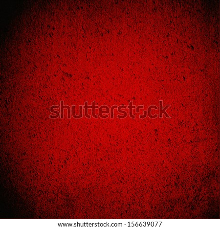 Blood red wall grunge background. Perfect for many uses including horror and Halloween. - stock photo