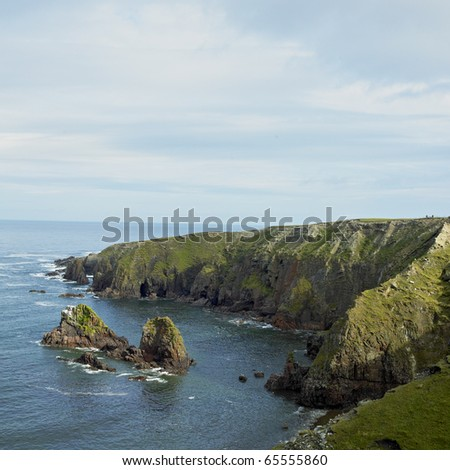 Bloody Foreland, County Donegal, Ireland - stock photo
