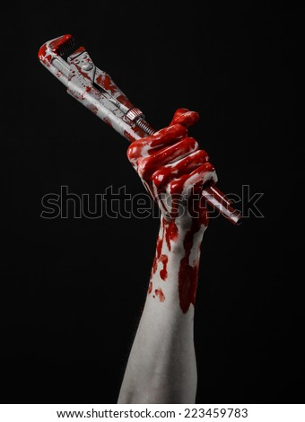 bloody hand holding - photo #26