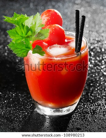 Bloody Mary - stock photo