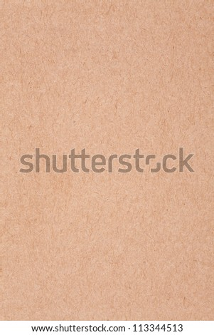 blotting paper background, rough brown cardboard texture - stock photo