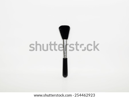 Blower for camera and lens isolated on white background - stock photo