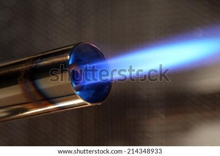 blowtorch - stock photo