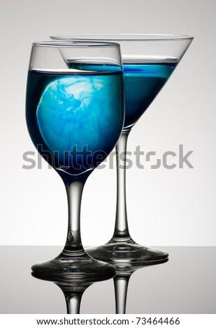 Blue - stock photo