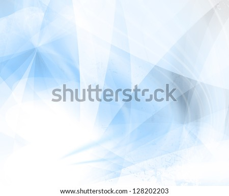 Blue Abstract Background Wallpaper - stock photo