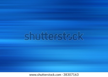 blue abstract background with horizontal lines - stock photo
