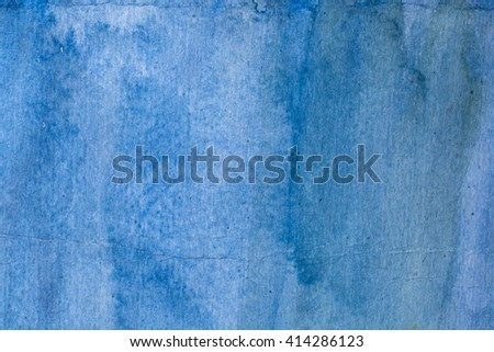 Blue Abstract grunge texture background - stock photo