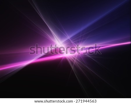 blue and pink abstract night light lines party background - stock photo