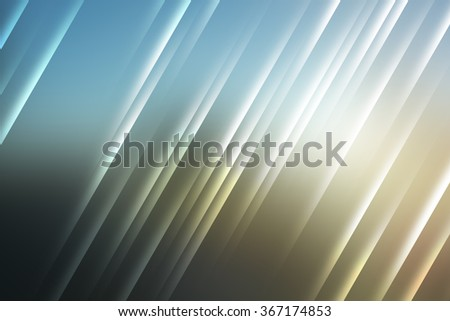 Blue and tan tones used to create abstract background - stock photo