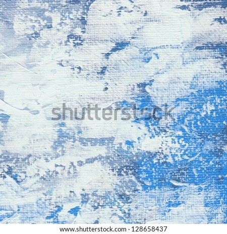 Blue and white abstract background - stock photo