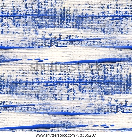 Blue and White Seamless Canvas Textures 1 - stock photo