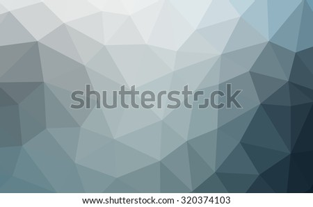 Blue, aquamarine abstract geometric rumpled triangular low poly style illustration graphic background. Raster polygonal design for your business.Cool background image for websites. - stock photo