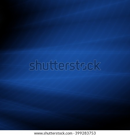 Blue background abstract deep modern card illustration - stock photo