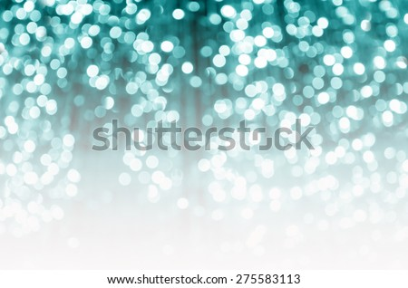 Blue background bokeh with defocused lights - stock photo