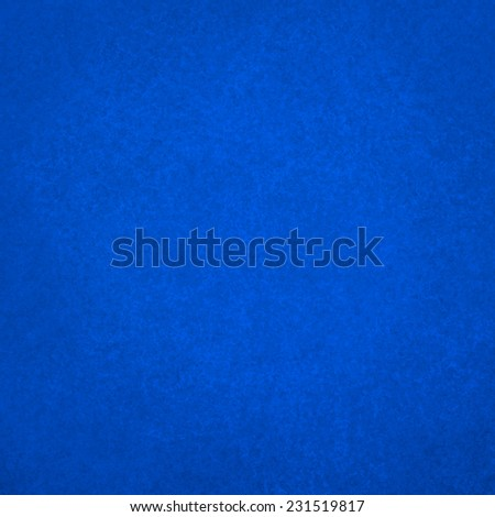 blue background color with vintage distressed texture design, bright sapphire blue color - stock photo