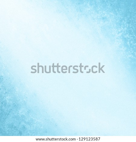 blue background. cool spring poster abstract canvas backdrop faded grunge background light blue color border - stock photo