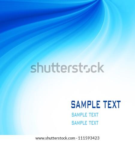 blue background soft - stock photo
