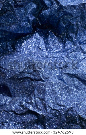 blue background with sparkles - stock photo