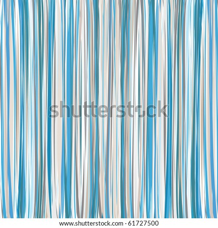 Blue-Beige-White Vertical Striped Pattern Background - stock photo