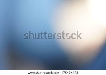 blue bokeh blur vivid background - stock photo