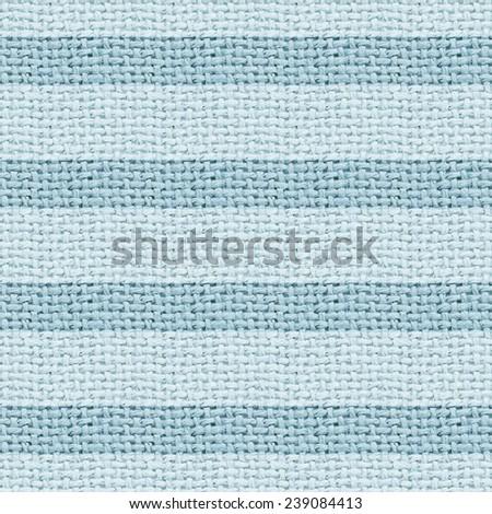 blue burlap texture digital paper with stripes  - stock photo