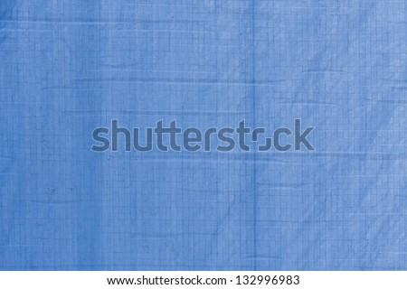 blue canvas close up - stock photo