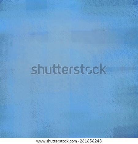 blue canvas pattern - stock photo