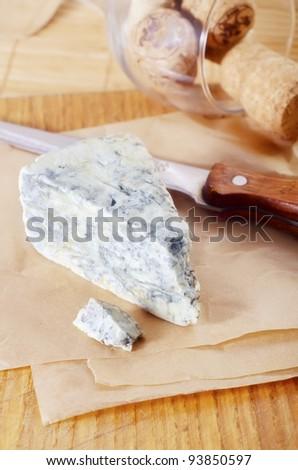 blue cheese - stock photo