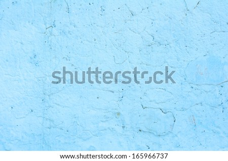 Blue color grunge abstract background texture - stock photo