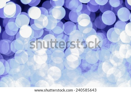 blue color tone bokeh background - stock photo