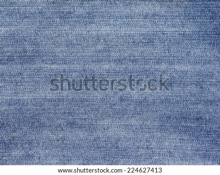 Blue denim jeans texture. Jeans background - stock photo