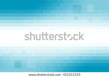 blue digital abstract background - stock photo