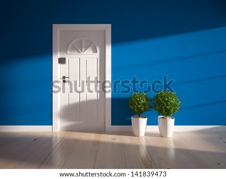 Blue Door Stock Photos Images Amp Pictures Shutterstock