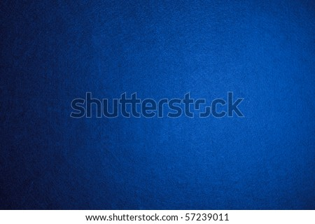 Blue felt background - stock photo