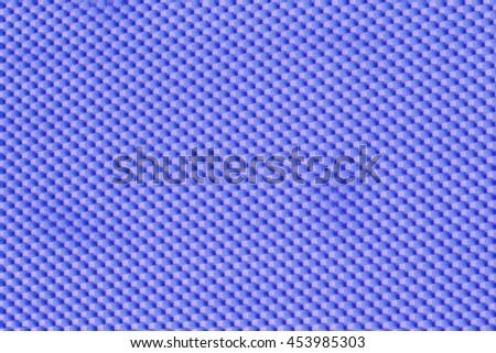 blue foam sponge texture background - stock photo