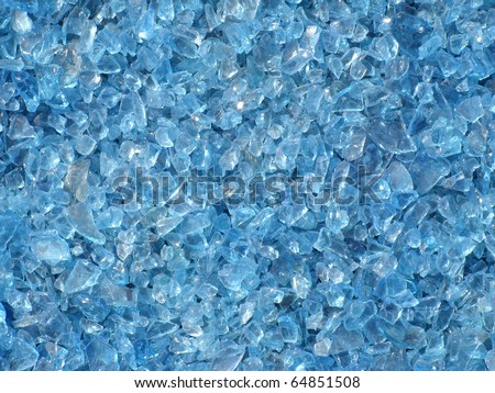 blue glass texture background - stock photo