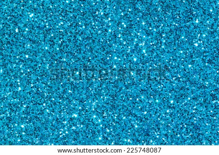 blue glitter texture christmas background - stock photo