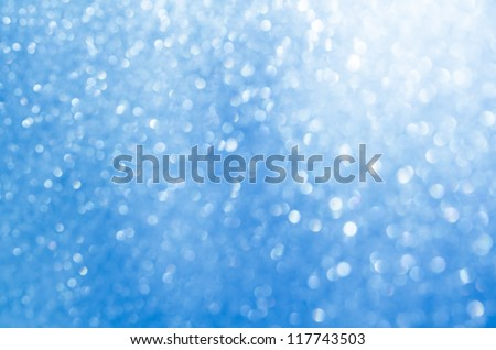 Blue glowing background - stock photo