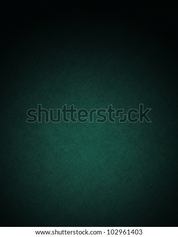 blue green background with black vintage grunge background abstract texture and lighting on black border, old blue paper or elegant website background template design, luxurious background wallpaper - stock photo