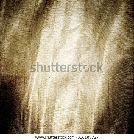 blue grunge background old paper canvas texture - stock photo