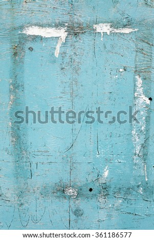 Blue grunge metal - stock photo