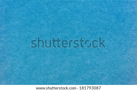 Blue hardback book cover abstract texture background - stock photo