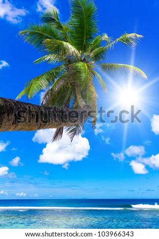 Blue Heaven Sunny Coast - stock photo