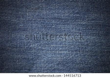 blue jean background - stock photo
