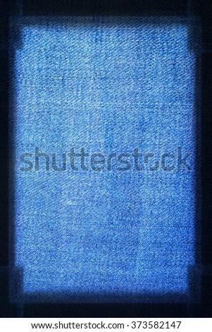 blue jeans fabric texture background, modern denim material texture subtle lines pattern - stock photo