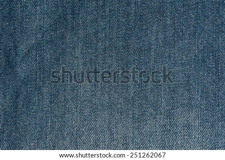 blue jeans fabric to use as background - stock photo