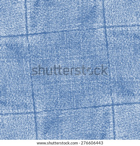 blue jeans texture decorated with seams - stock photo