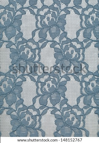 Blue lace. - stock photo